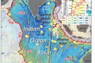 Placa tectonica uriasa de sub Oceanul Indian se rupe in doua. Cand se va desprinde total