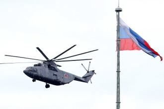 Încă un elicopter militar a căzut în Rusia. Câți oameni au murit