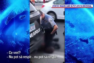 Un bărbat de culoare, mort după ce a fost încătușat de polițiști și legat de portiera unei mașini