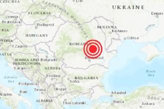 Al doilea cutremur în Vrancea, într-o singură zi. Ce magnitudine a avut
