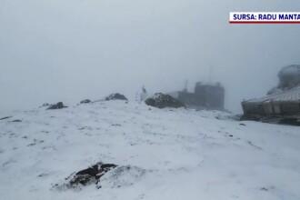 Un val de frig s-a năpustit asupra României. Cum va fi vremea în zilele următoare