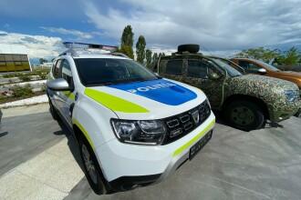VIDEO Cum arată noul Duster al Poliției Române. Premierul Orban, printre primii care l-au văzut