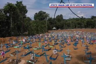 Coronavirusul face ravagii în Brazilia. Cadavrele au ajuns să fie aruncate în gropi comune