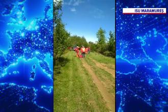 Operațiune contra-cronometru pe Dealurile Maramureșului. Un bărbat a fost strivit de ATV