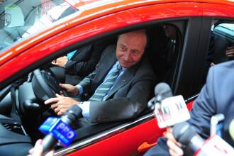 Coloana oficială în care se afla și Traian Băsescu, implicată într-un accident