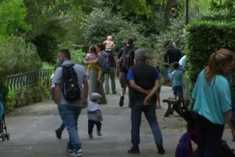 Grădina zoologică din Roma și-a deschis din nou porțile