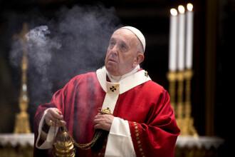 Avertismentul Papei Francisc, după relaxarea restricțiilor:
