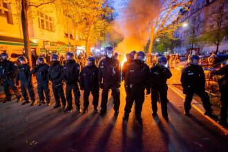 Ziua Muncii, marcată cu proteste masive în mai multe țări europene. Peste 50 de polițiști au fost răniți la Berlin
