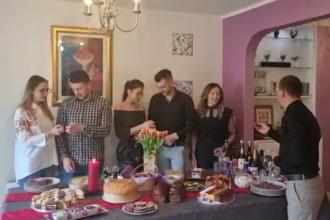 Românii aflați la muncă în străinătate au sărbătorit Paștele cu dor de casă și videoconferințe cu cei dragi