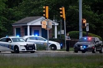 Un bărbat a fost împușcat de agenții FBI după ce a încercat să intre înarmat în sediul CIA