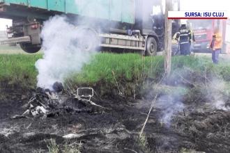 Un motociclist de 46 de ani și-a pierdut viața după ce s-a izbit violent de un camion, pe DN1