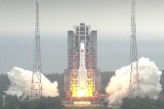 Racheta chinezească uriaşă a scăpat complet de sub control şi ar putea lovi oriunde. Care este cel mai rău scenariu
