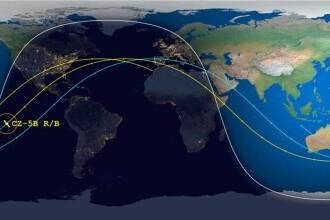 Racheta chineazască a căzut pe Pământ! China a anunțat ce consecințe sunt!