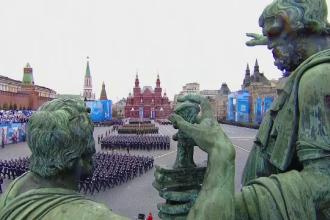 Paradă militară în Rusia. Putin a transmis un mesaj dur Occidentului