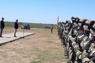 Președintele Iohannis, la exercițiul NATO: Ne pregătim pentru misiuni de luptă de apărare