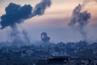 """""""Este război"""". De două zile, Israelul este supus unui baraj de rachete Hamas"""