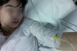 Un medic a uitat în corpul unei fetițe pansamentele folosite la operația de apendicită