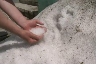 România va fi lovită de o vijelie cu gheaţă, care a făcut dezastru în Ungaria
