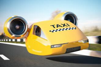 Primele taxiuri zburătoare în Europa ar putea apărea în 2024 sau în 2025