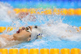 Înot: Sportivul Robert Glinţă a stabilit un record naţional la 50 de metri spate