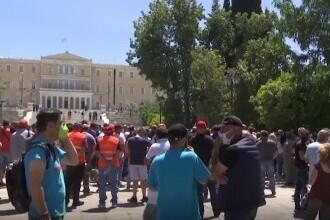 Grecii au protestat împotriva sterilizării animalelor. Sute de oameni au ieșit în stradă