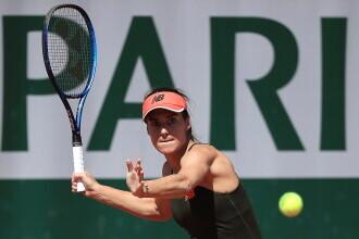 Sorana Cîrstea a fost eliminată în optimi la Roland Garros, după ce a ratat o minge de set