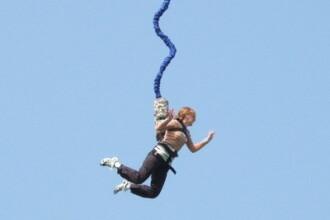 Cursa de gandaci si bungee jumping la Studentiada din Regie!
