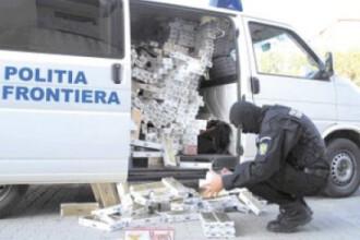 Au abandonat marfa de peste 12.000 de euro, de frica politiei!