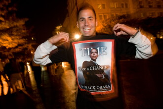 Portret: Barack Obama, pata de culoare a Americii