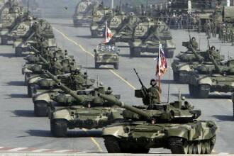 Rusii isi arata muschii! Au organizat o parada militara impresionanta