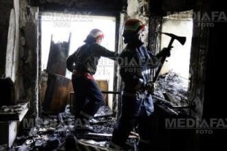 Doua cadavre carbonizate au fost gasite intr-o casa din Hateg. Nu este exclusa ipoteza unei crime