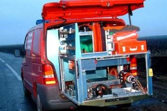 SMURD Cluj si-a cumparat o masina pentru suport logistic
