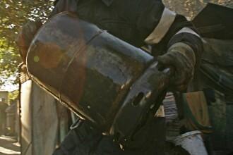 O butelie umpluta intr-un centru neautorizat a provocat o explozie la Gaesti