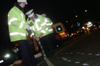 Serie sinistra de accidente, vineri noapte, pe drumurile Romaniei