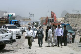 Sase copii au fost ucisi de explozia unei rachete in nordul Afganistanului