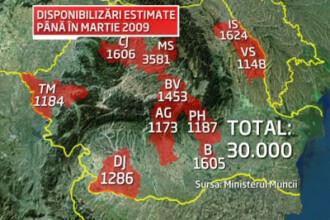 Cancerul somajului s-a raspandit in Romania! Vezi aici harta