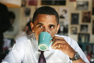 Vrei o cafea Obama? Se serveste cu frisca si zahar!