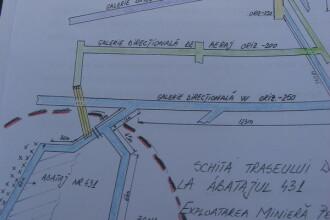VIDEO: Vezi traseul urmat de salvatorii de la Petrila