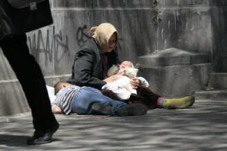 Copiii cersetori din Sofia castiga in medie 1.000 de euro pe luna