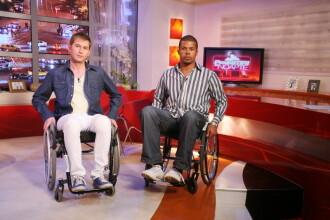 Cabral si Mircea Solcanu prezinta Povestirile in scaune cu rotile