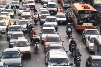 Ho, ho, ho! Mos Craciun ne aduce haos in traficul din Capitala!