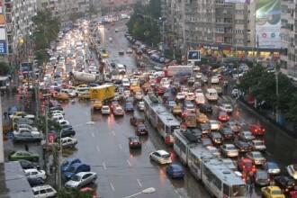 Traficul din Capitala, tinut in frau de politistii din provincie