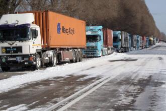 Zapada si ceata! Circulatia ingreunata pe mai multe drumuri nationale