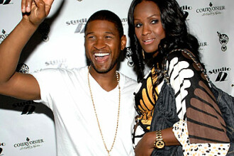 Cel mai frumos cadou de Craciun pentru Usher: un bebe!