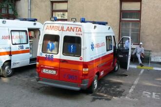 Iasi: 11 raniti, dupa ce un microbuz a fost izbit in plin de o masina