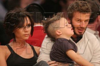 David Beckham a primit