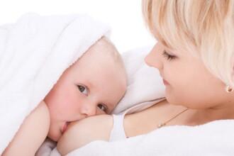 Laptele matern, sanatate curata pentru bebelusi!