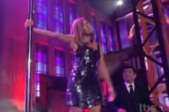 Eva Longoria, pedepsita la bara de striptease! VEZI VIDEO