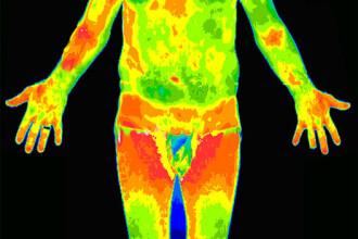 Camera cu termoviziune ce poate detecta suspectii de gripa noua, la Romexpo