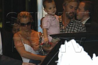 Fiul cel mic al lui Britney i-a ferit sanul dezgolit!